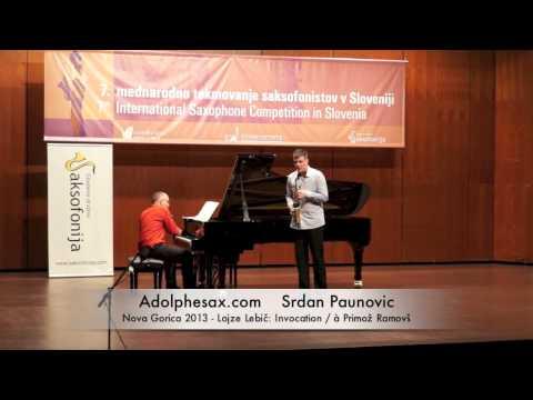 Srdan Paunovic - Nova Gorica 2013 - Lojze Lebič: Invocation / à Primož Ramovš