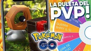 LA RULETA DE PVP + CONSEGUIMOS A MELTAN SHINY✨!!   1082   POKEMON GO