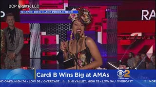 Taylor Swift, Cardi B Win Big At AMAs