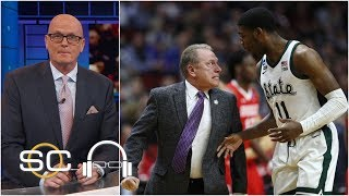 Tom Izzo yelling at Aaron Henry didn't bother Michigan State - Scott Van Pelt   SC with SVP