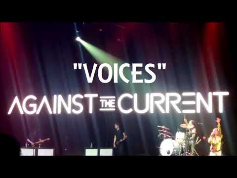 Against The Current - Voices (Official Live Audio)