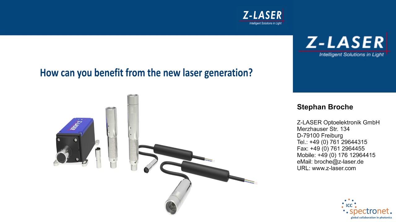 Eine neue Generation an Lasermodulen – Welche neue Möglichkeiten bieten heutige Laser für Ihr Bildverarbeitungssystem - Technologieforum Bildverarbeitung 2017