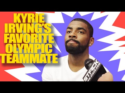 Kyrie Irving Reveals His Favorite Team USA Teammate