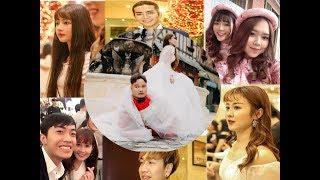 Dàn sao showbiz Việt kéo nhau dự đám cưới Vinh Râu và Lương Minh Trang
