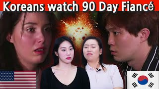 Koreans react to 90 Day Fiancé: The other way (Jihoon and Deavan) Season 2 Vol.2