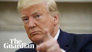 Trump dice que podría ganar la guerra de Afganistán y borrar el país 'de la faz de la Tierra'