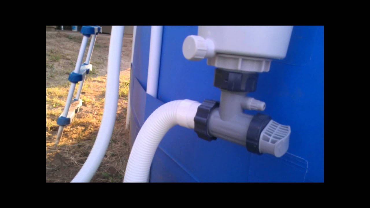 Converting The Summer Escapes Pool Filter To Intex