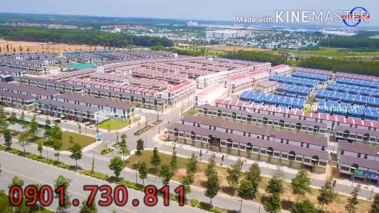 Shophouse 1 trệt, 2 lầu, MT trục chính KDC 1252 căn nhà thuận tiện kinh doanh. LH: 0901550433 video