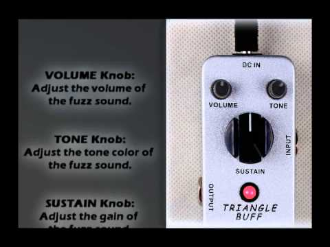 Mooer Audio Triangle Buff Fuzz Pedal