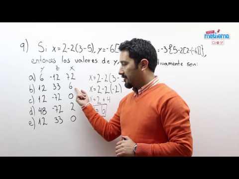 Prueba de números enteros 9
