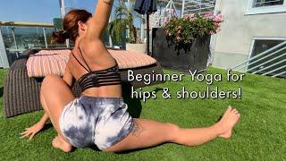 Beginner Yoga Routine for Hips & Shoulders!