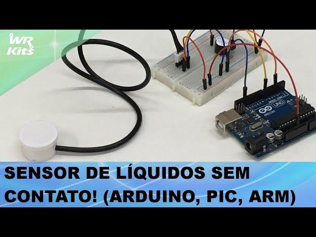 SENSOR DE LÍQUIDOS (SEM CONTATO!) ARDUINO, PIC, ARM