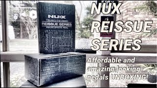 UNBOXING - Two new pedals from the Nux Reissue Series!