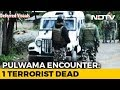 Terrorist Shot Dead In Encounter With Security Forces In J&Ks Pulwama