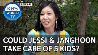 Could Jessi and Janghoon take care of 5 kids? [Trio's Childcare Challenge/ENG/2019.11.20]
