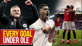 EVERY GOAL under Ole Gunnar Solskjaer | Ole's at the wheel! | Manchester United