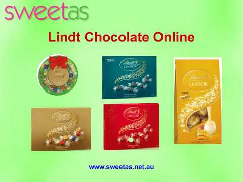Buy Lindt Chocolate from Sweet As