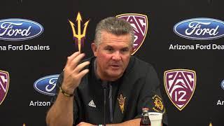 Coach Todd Graham | Postgame | USC | 10.28.17