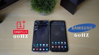 60hz vs 90hz - One Plus 7 Pro - S10 Plus