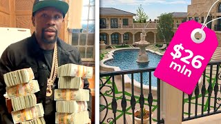 Get Ready For A Tour Of Floyd Mayweather's $26 Million Mansion | Rumour Juice