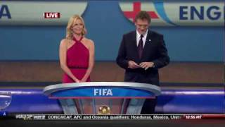 FIFA 2010 : World Cup Final Draw (Part 1/4)