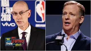 Would Adam Silver be a better NFL Commissioner than Roger Goodell? | The Dan Le Batard Show