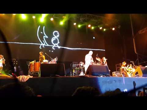 Calle 13 - Ojos color Sol (En vivo en Ferro 2014)