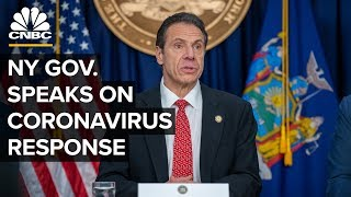 New York Gov. Cuomo holds a briefing on the coronavirus outbreak - 4/17/2020