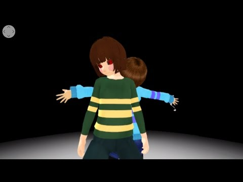 360°MMD 3D Undertale Bad Apple by Sky Yuki