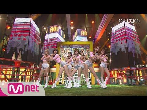 AOA - 'Heart Attack' M COUNTDOWN 150625 COMEBACK Stage Ep.430