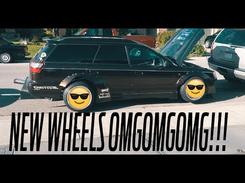 LOWERING THE LEGACY EVEN MORE! + new wheels!?!?!?!?