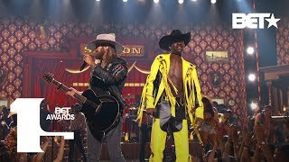 Lil Nas X & Billy Ray Cyrus Bring The Old Town Road To The BET Awards Live! | BET Awards 2019
