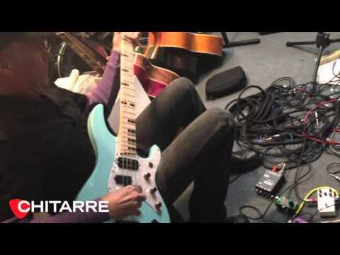 Billy Sheehan & EBS Sheehan Drive pedal - di Simone Sello