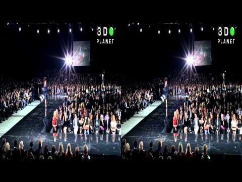 Moskow Fashion Week 2011 открытие Юдашкин 3D часть1