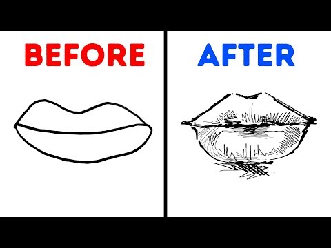 17 EASY DRAWING TIPS AND TRICKS FOR BEGINNERS
