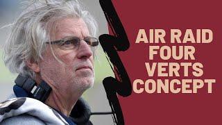 Teaching the Air Raid Four Vertical Concept
