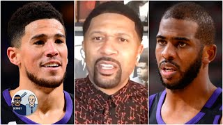 Jalen Rose: Devin Booker should have made the All-Star Game over Chris Paul | Jalen & Jacoby