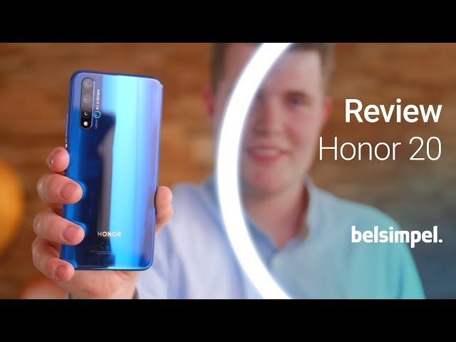 Belsimpel-productvideo voor de Honor 20