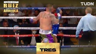 3ER ROUND: ¿QUÉ ESTÁ PASANDO? Andy Ruiz se tambalea ante Arreola I Andy Ruiz vs Chris Arreola I TUDN