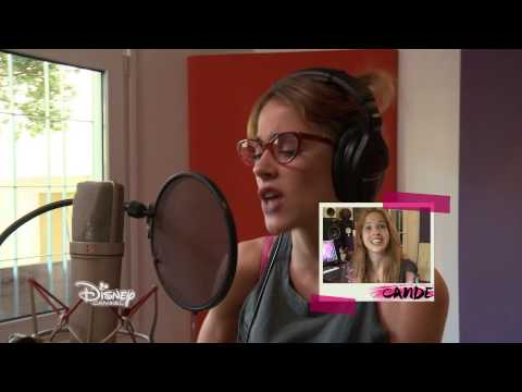 Violetta saison 3 - Les coulisses : Enregistrement des chansons