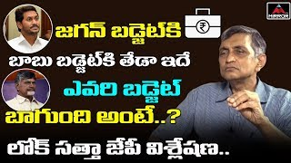 Lok Satta Jayaprakash on AP Budget 2019- Interview..