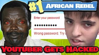 African Rebel Kony HACKS Youtuber VIBEZ On Fortnite & Takes His Verified Channel!