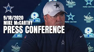 Mike McCarthy: Final Prep For ATL; Injury Updates | Dallas Cowboys 2020