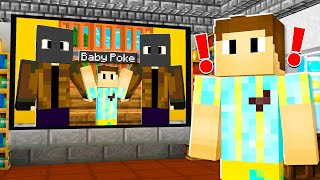 BABY POKE Was TAKEN.. I Had To Save Him! (Minecraft)