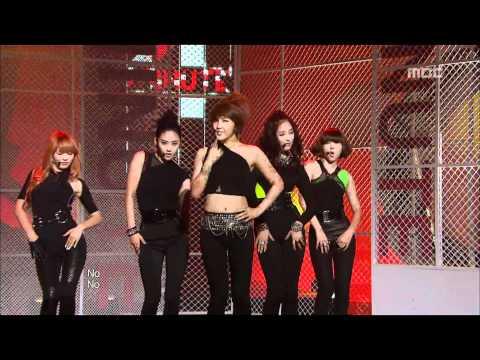 4Minute - Who's next, 포미닛 - 후즈 넥스트, Music Core 20100522