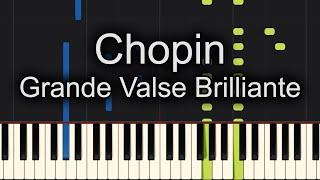 Chopin Grande Valse Brilliante Piano Cover + SHEET MUSIC!!