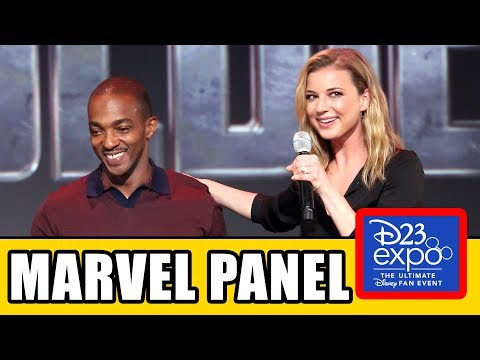 MARVEL D23 Disney+ Panel