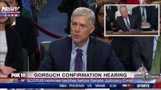 FNN: Sen. Leahy Asks Gorsuch About GOP Treatment of Merrick Garland, Obama's Supreme Court Pick