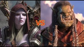 Saurfang or Sylvanas? - WoW BFA Patch 8.1 Tides of Vengeance - World of Warcraft Battle for Azeroth