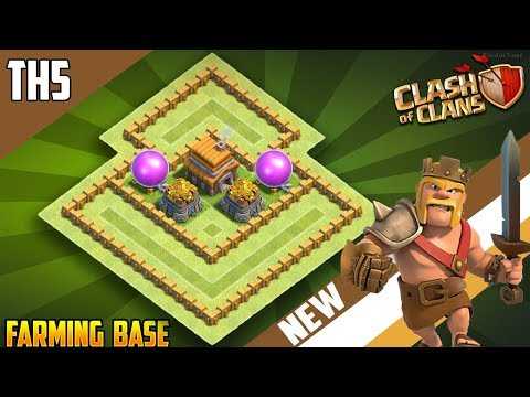 Clash Of Clans Town Hall 5 Defense Coc Th5 Hybrid Base Layout